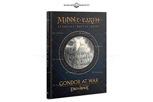 - Citadel Gondor at War Lord of The Rings Strategy Battle Game Book (HB)