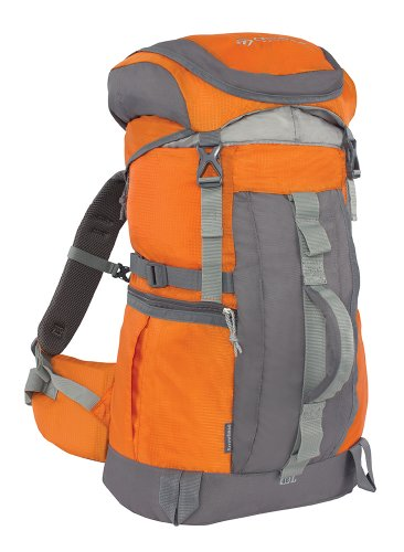 Outdoor Products Arrowhead Internal Frame Technical Backpack, 47.8-Liter Storage, Pumpkin - External Internal Frame Backpacks