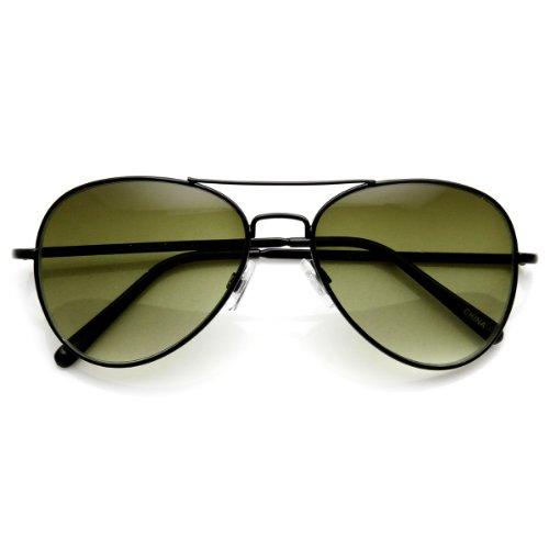 zeroUV - Small Classic Aviator Sunglasses 50mm Aviators - Small Lens Sunglasses Aviator