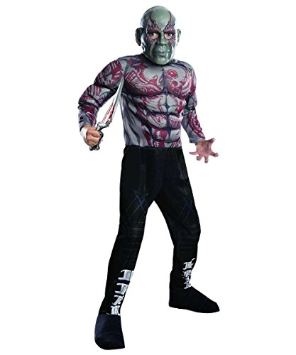 Deluxe Drax the Destroyer Child Costume - Medium -