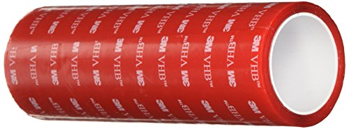 UPC 888519024508, 3M VHB Tape 4905, 6 in width x 1 yd length (1 Roll)