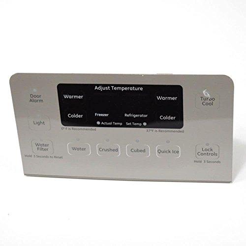 Ge WR55X10864 Refrigerator User Interface Assembly Genuine Original Equipment Manufacturer (OEM) Part ()