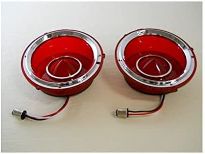 United Pacific 1970-1973 Chevy Camaro 30 LED Red Brake Stop Turn Tail Lights 1971 1972