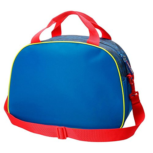 Disney Racing Series Borsone, 40 cm, 24.64 liters, Blu (Azul)