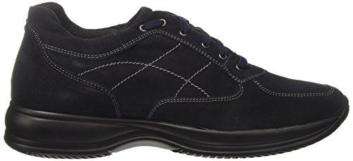 8439315 BATA 9 Alto Collo Blu Blu Uomo Sneaker a Sw4dU