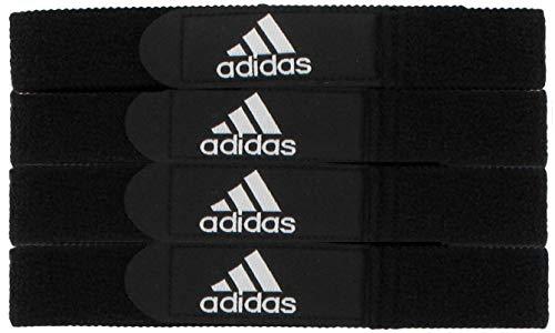 adidas Unisex Soccer Shin Guard Strap, Black, ONE - Strap Stay