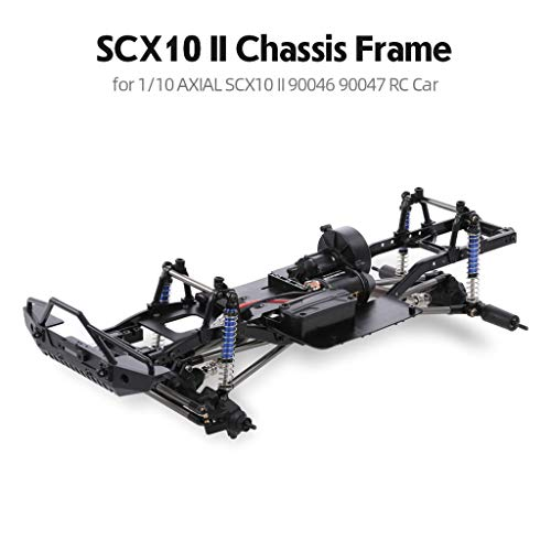 - MODAO 313mm Wheelbase RC Crawler Frame Chassis for 1/10 Axial SCX10 / II 90046 90047