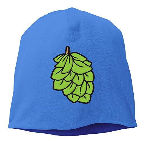Arsmt Beanies Hat Winter Knit Cap Skull Cap Beer Hops Warm Cuff Watch Men RoyalBlue