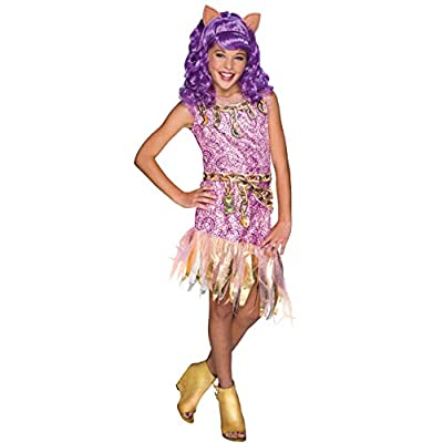 Rubie's Costume Monster High Haunted Clawdeen Wolf Child Costume, Small: Toys & Games