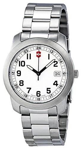 Victorinox-Swiss-Army-Mens-VICT26006CB-Classic-Analog-Stainless-Steel-Watch