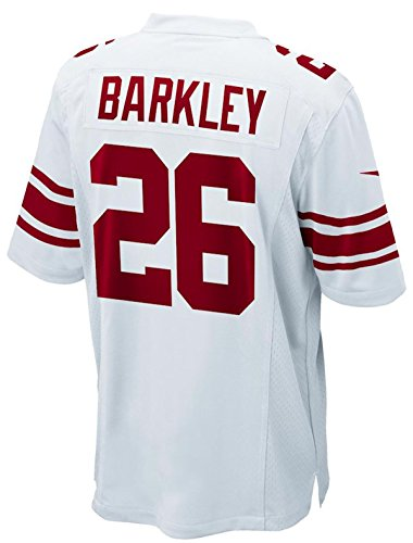 (Nike New York Giants Saquan Barkley Youth Boys Game Jersey - White (Youth XL(18-20)))