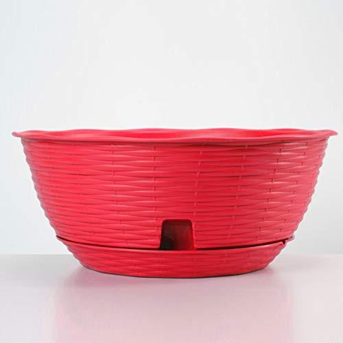 Red Flower Bowl - Apollo Exports International AP-30715 16