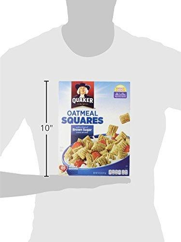 Amazon.com: Cuadrados de avena, harina de avena crujiente con una pizca de azúcar morena, 14.5 onzas Cajas (paquete de 4): Baby