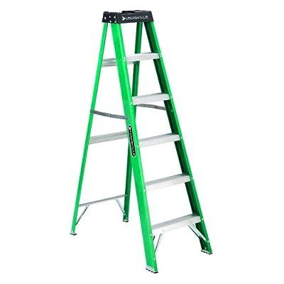 Louisville Ladder 300-Pound Duty Rating Fiberglass Ladder