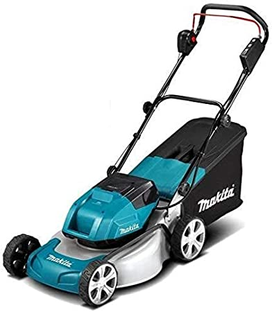 Makita DLM460Z grasmaaier 2x18V (zonder accu, zonder oplader), blauw