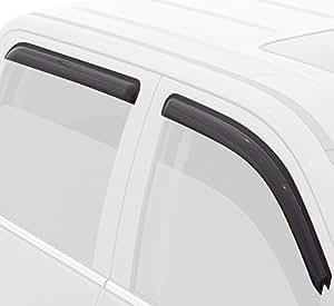 auto ventshade 94005 ventvisor deflector 4 piece by auto ventshade car electronics. Black Bedroom Furniture Sets. Home Design Ideas
