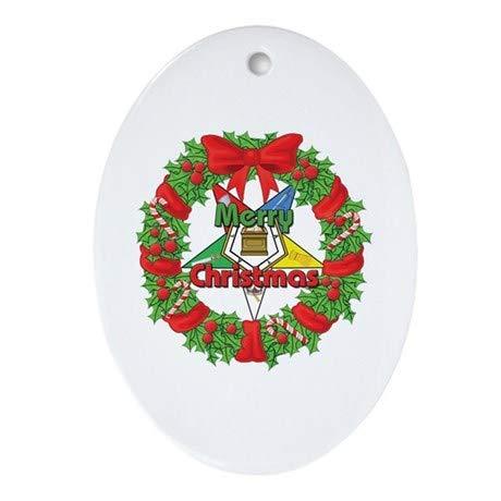 TiuKiu OES Wreath Ornament (Oval)