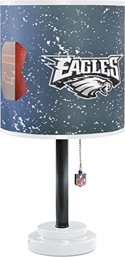 Amazon.com: NFL Philadelphia Eagles Table Lamp with Die Cut Lamp ...