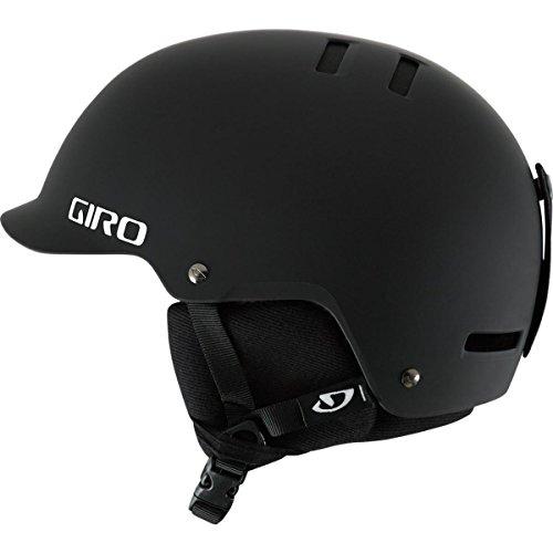 Giro Surface-S Snow Helmet (Matte Black, Medium)