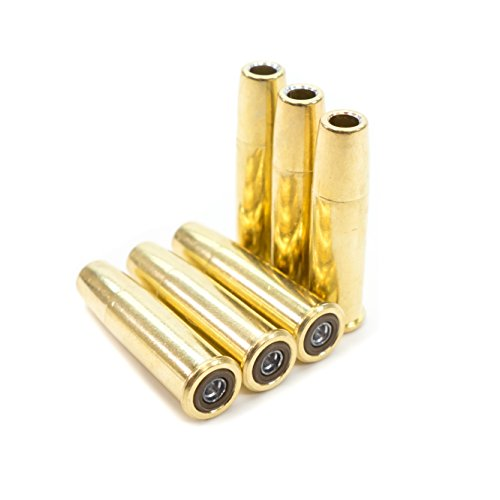 Bear River Pellet Cartridges Black Ops Exterminator Revolver - Pack of 6 Shells for Standard .177 Caliber Pellets