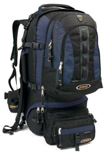 Asolo Gear Navigator 70 Travel Pack (Night/Black), Outdoor Stuffs