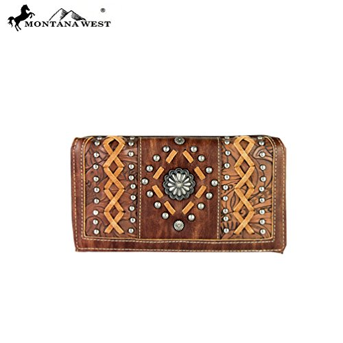 Concho Collection (MW364-W010 Montana West Concho Collection Secretary Style)