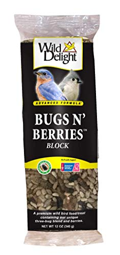 - Wild Delight 388310 Bugs N' Berries Block, 12 oz,