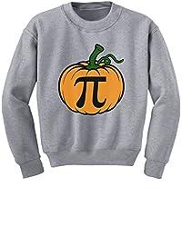 TeeStars - Halloween Pumpkin Pie Funny Pumpkin Pi Youth Kids Sweatshirt