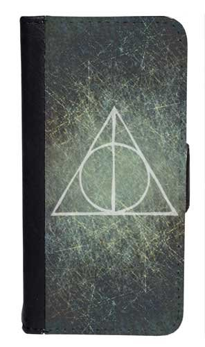Harry Potter Deathly Hallows Bi-fold iPhone 5 Case
