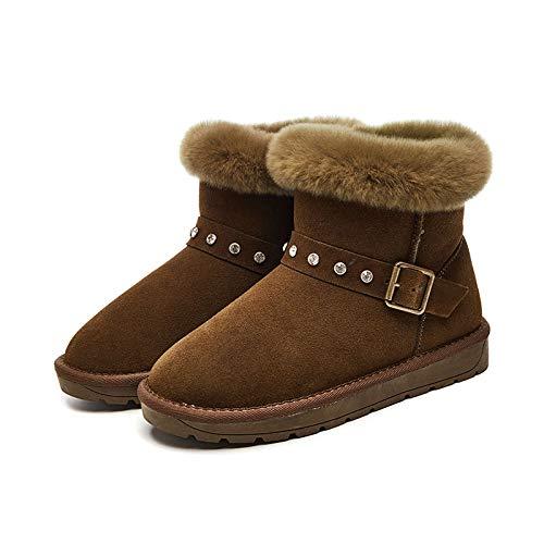 Zhw Air Boucles Kaki Activités Les Femmes De Bottes Pour Chaussures Neige Etc hiver À Velours Automne Plein H6gHFqwxfr