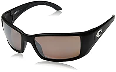 Costa Del Mar Saltbreak Sunglasses, Black, Blue Mirror 400G Lens