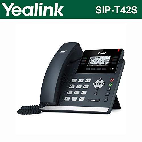 Yealink SIP-T42S IP Phone (Certified Refurbished) by Yealink