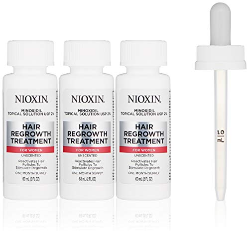 Nioxin Minoxidil Hair Regrowth Treatment Women, 6 - Treatment Minoxidil