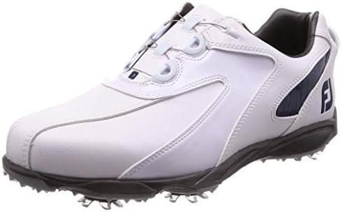 ゴルフシューズ EXL SPIKE Boa メンズ ホワイト/ネイビー (19) 26.0 cm 3E 45189J M