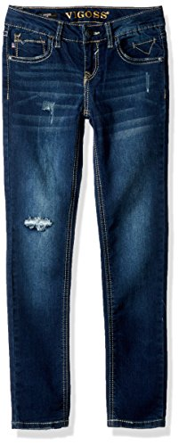 VIGOSS Big Girls' Back Pocket Jean, Juno-484, 8