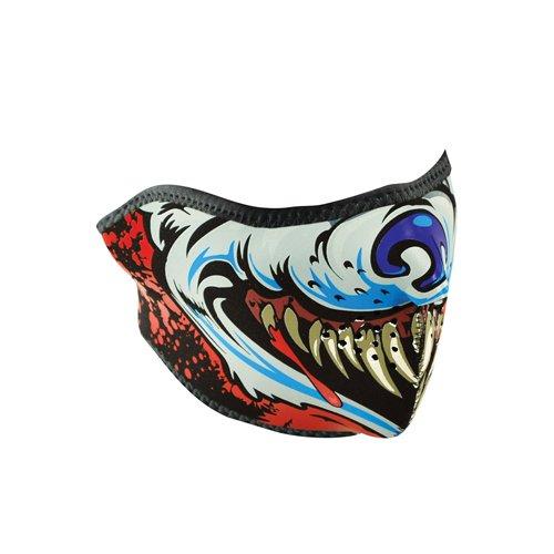 ZANheadgear Neoprene Lethal Threat Wolf Half Face Mask ()