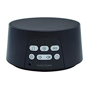 White Noise Machine Unite Stone, 24 Unique Sleeping Sound for Adult and Baby in Your Home or Office