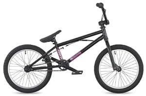 "DK Intervol 2011 BMX Bike, 18"" Black with white rims"