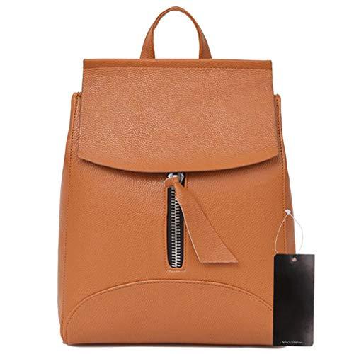Travel Shoulder Leather 02 Bags Girls School Backpack Women Teenage Female Fashion x78q0Yww