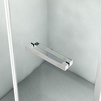 MAMPARA DUCHA FRONTAL 1 PUERTA PLEGABLE (70 a 80 cm.): Amazon.es: Bricolaje y herramientas