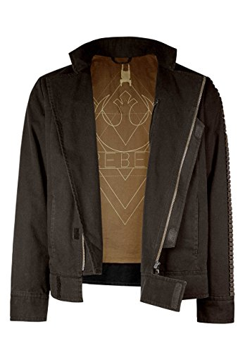 Musterbrand Star Wars Men Jacket Cassian Brown XXL