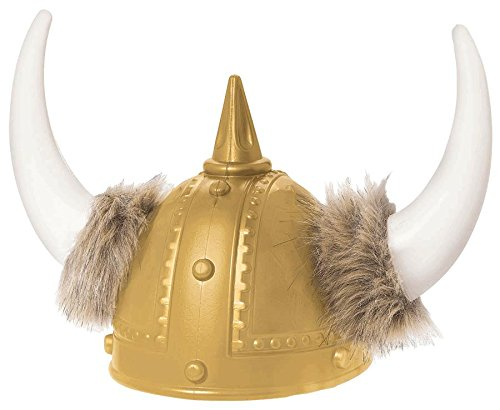 AMSCAN Viking Helmet Deluxe Halloween Costume Accessories, One Size ()