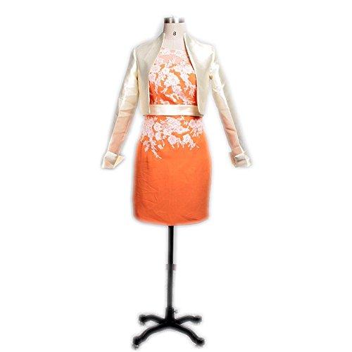 Meibida - Robe - Femme orange Orange