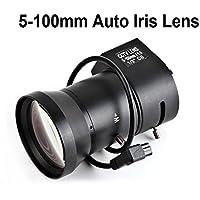 CCTV video camera lens, varifocal, 5-100MM, auto-iris DC