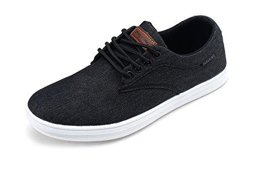runs kings New Light Weight Go Easy Walking Casual Men Sneakers(R7278) BLACK/WHITE12