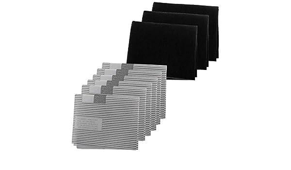 Spares2go - Kit de filtro de grasa para campana extractora de cocina Samsung (6 filtros de grasa, 3 filtros de carbono): Amazon.es: Grandes electrodomésticos