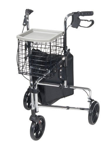 Drive Medical Wheel Rollator Chrome