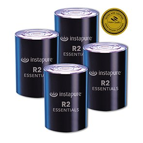 InstaPure F2R-4ES Replacement Filter, 4 pack by Instapure