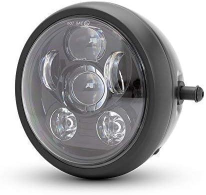 6inch Proyector LED Moto Faro Delantero para Café Corredor ...