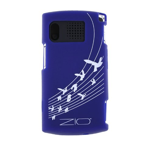 Sanyo / Kyocera Skin Case for Zio M6000 (Blue) (Phone Cell Cases Sanyo)